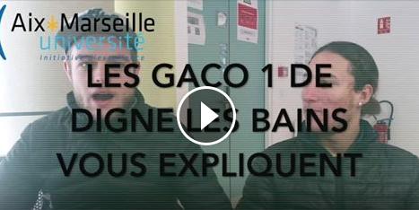 «Pourquoi GACO ?» par les étudiants de l'IUT d'Aix-Marseille