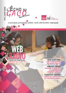 première page magazine GACO