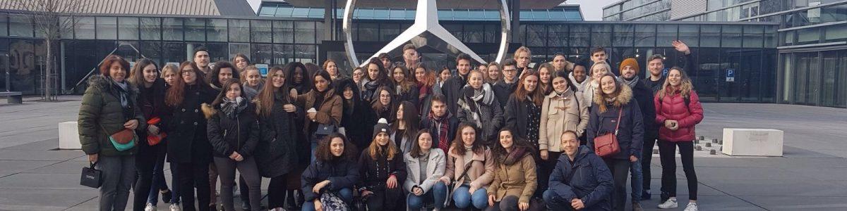 Voyage en Allemagne pour les étudiants de GACO Saint-Etienne