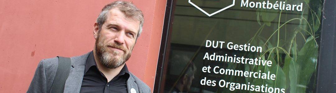 Portrait de Stéphane Laurent (LPRO MOSEL) dans le Journal du Palais